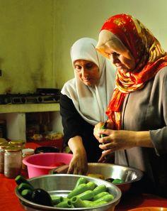 The Gaza kitchen.  Palestinian cookbook written by a friends aunt