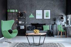 #lakberendezes #otthon #otthondekor #homedecor #homedesign #furnishings #design #furnishingideas #housedesign #decor #decoration #interiordesign #interiordecor #interiores #interiordesignideas #interiorarchitecture #interiordecorating #homedecoration #homedecorationideas #homedecorideas #monochromedesign #monochromelivingroom #monochromebedroom #monochromeinterior #monochromehome #monochromekitchen #blackandwhitedecor #blackandwhiteinterior Ombre Color, Egg Chair, Monochrome Bedroom, Monochrome Interior, Black And White Interior, Table And Chairs, Original Image, Floor Chair
