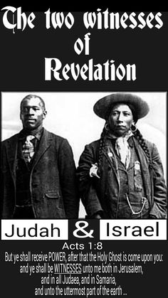 The two witnesses of Revelation. Judah & Israël. The 12 tribes of ISRAEL. The children of Yisrael The SO CALLED negroes of Slavery & native Indians of the Americas and all who come from them. You are Ahayah's (God) Chosen people. Acts 1:8 But ye shall receive power, after that the Holy Ghost is come upon you: and ye shall be witnesses unto me both in Jerusalem, and in all Judaea, and in Samaria, and unto the uttermost part of the earth. #HebrewIsraelites spreading TRUTH #ISRAELisBLACK ...