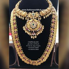 Kasulaperu Long chain collections from Om prakash Jewellers Gold Jewellery, Chains, Going Out, Collections, Jewels, Design, Women, Fashion, Gold Jewelry