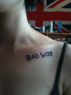 - DOCTOR WHO TATTOO!!