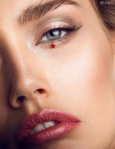 Makeup by CMU graduate Windy Chiu Beauty Makeup, Hair Makeup, Halloween Eyes, Blush Brush, Gorgeous Women, Beautiful, Lips, Make Up, Photoshoot