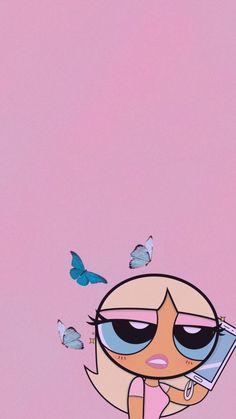 Butterfly Wallpaper Iphone, Cartoon Wallpaper Iphone, Iphone Background Wallpaper, Cute Disney Wallpaper, Retro Wallpaper, Cute Cartoon Wallpapers, Pretty Wallpapers, Pink Glitter Wallpaper, Hippie Wallpaper