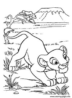 The Lion King coloring page | disney coloring pages | Pinterest ...