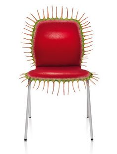 Venus Fly Trap chair. For that certain guest that needs to be put in their place.
