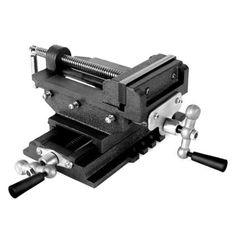 EBERTH-2-Achsen-Kreuztisch-Fraestisch-Schraubstock-Maschinenschraubstock-150mm