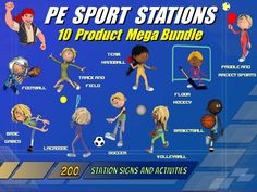 PE Sport Stations- 10 Product Mega Bundle