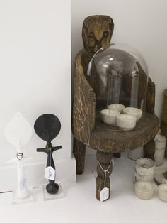 LuMu Interiors Naga Chair + Fertility dolls 427 Darling Street, Balmain, NSW, 2041. www.lumuinteriors.com