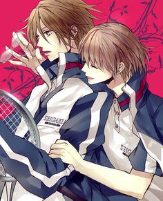 Prince of Tennis (Tenipuri) - Kunimitsu Tezuka x Shuusuke Fuji - Perfect Pair