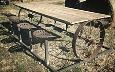 Exceptional tackled awesome metal welding projects check here Welding Table, Metal Welding, Welding Art, Welding Ideas, Cool Welding Projects, Welding Crafts, Welding Design, Blacksmith Projects, Rustic Table