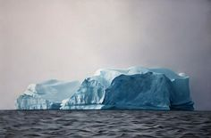 Hyperrealistic pastel drawings that show the melting icebergs in Greenland   Creative Boom