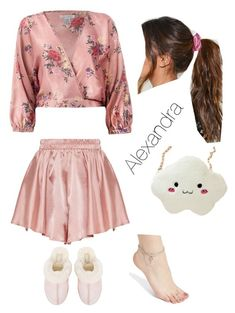 """""""Untitled #4"""" by alexandra-marinela on Polyvore featuring Sans Souci, UGG, Nasty Gal and Carole"""