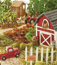 Farm Fairy Garden | DIY Fairy Gardens | Creative Fairy Garden Scenes