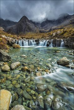 Fairy Pools (Scotland) by Michał Badowski