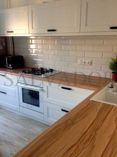 Дизайн угловой кухни в скандинавском стиле из крашенного МДФ на 10 кв. м