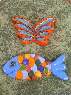Ceramic Sculptures, Ceramics, Painting, Cute Outfits, Ceramica, Painting Art, Sculpting, Ceramic Art, Paintings