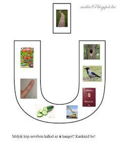 Játékos tanulás és kreativitás: Kisbetűkben képek a hangfelismerés gyakorlásához Dysgraphia, Gallery Wall, Letters, Teaching, Decor, Facebook, Writing, School, Decoration