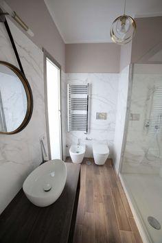 Small Toilet Design, Modern Bathroom Design, Bathroom Interior Design, Moroccan Bathroom, Concrete Interiors, Bathroom Floor Plans, Best Bathroom Designs, Vanity Design, Beautiful Bathrooms