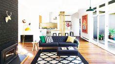 Tour a Chic, Eco-Savvy Family Home in Australia via @MyDomaine