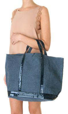 Vanessa Bruno Cabas Grand Sequin Tote - #bag