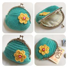 Sweet vintage purse made by Sweetcrochet.nl