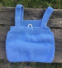 Blue vest.