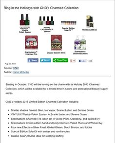 Shellac Charmed Collection due October