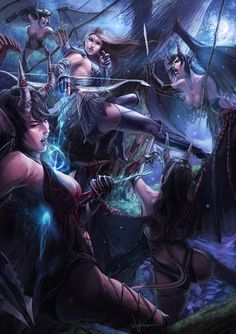 Fighting off the ravening succubi