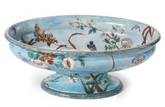 A LARGE FRENCH JAPONISME FOOTED CENTERPIECE, Joseph Théodore Deck CIRCA 1875 Estimate  15,000 — 20,000  USD  LOT SOLD. 22,500 USD