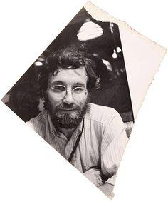 Saul Leiter Photograph of Alan Porter, circa 1977