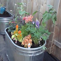 Whatever your gardening challenge, it's very possible that container gardening is the answer. Bad soil? Container garden. Limited space? Container garden. Rented yard? Container garden. No yard? Yep, you guessed it: Container garden.    You can grow just about anything in a container, from fruit trees to herbs and flowers, and everything in between. Here are a few tips for getting your container garden started.
