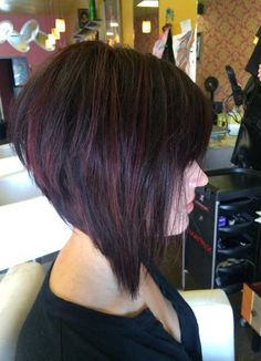25  Short Dark Hair | http://www.short-hairstyles.co/25-short-dark-hair.html