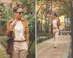 Yellow and Roses (by Priscila My Showroom) http://lookbook.nu/look/4698075-Yellow-and-Roses