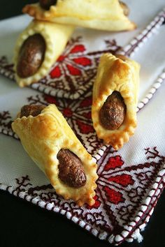 Babouches aux dattes, pâtisserie Marocaine