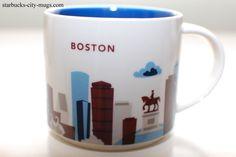 Boston | YOU ARE HERE SERIES | Starbucks City Mugs
