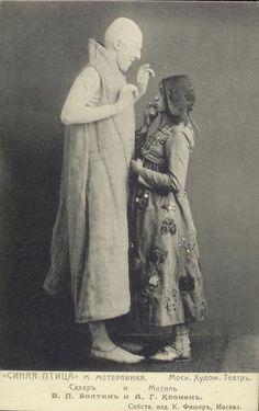 En 1908, estrenó pájaro azul de Maeterlinck en Moscú Teatro de Arte de…