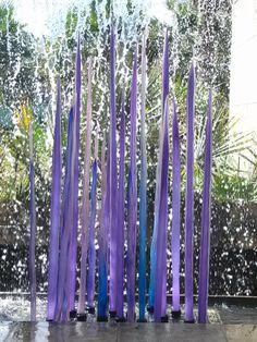 chihuli (?) glass exhibit @ Dallas Arboretum