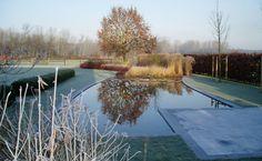 De ultieme tuindroom ... een zwemvijver om u tegen te zeggen, ook mooi in de winter