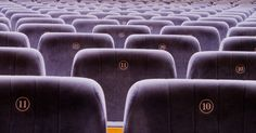 Picture of seats in the cinema. the screen size is 3466 x 1812 pixels and the file size is 2382 Kbytes and it is a stock photography image.