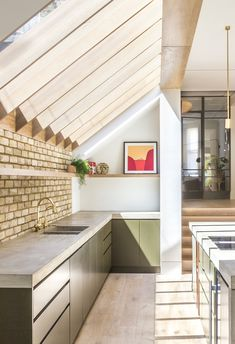 Victorian Terrace House, Victorian Homes, House Extension Design, House Design, Kitchen Interior, Kitchen Design, Kitchen Diner Extension, House Extensions, Kitchen Extensions