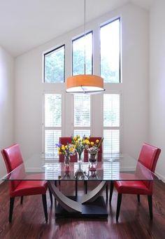 Contemporary Dining Design. NR Interiors San Antonio, TX.
