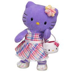 Hello+kitty+build+a+bear+clothes | ... into Fun Purple Hello Kitty® by Sanrio® - Build-A-Bear Workshop US