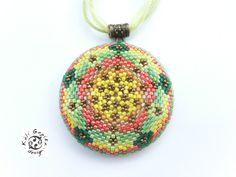 Káli Gopika design: Napraforgó Mandala / Sunflower Mandala