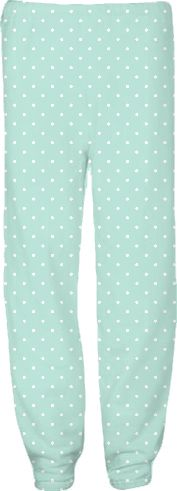 Nautical Aqua dots Match pants from Print All Over Me