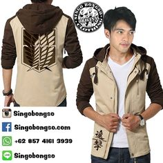 JAKET HOODIE SNK CASUAL BROWN  Price : IDR 259000 / USD 31 Material : Canvas Marsoto Application : Screen Printing  Delivery from Indonesia  Contact : ORDER BBM : 590007F2 WA : 62 857 4161 3939 LINE : singobongso  RESELLER BBM : 7D7993CF WA : 62 89 659 326 456 email : singo.bongso@gmail.com  Facebook http://ift.tt/1VLnZ12 http://ift.tt/1XzdPBW Instagram http://ift.tt/1OhgqcD http://ift.tt/210r841  Singobongso Anime Clothing Jaket Anime | Kaos Anime | Store Anime | Tas Anime | Jaket Naruto…