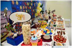 Decoração com o Tema Candy Crush #delicious #candy