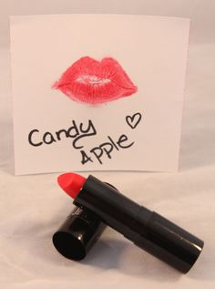 Mmmm,  delicious.  That's what I think every time a put a little CANDY APPLE RED on my lips.  It gives your face that instant 'pop' of color that's bright, bold and sexy.  Lipshine wears comfortably on lips with a very moist, sheer finish.  This lipstick is gorgeous worn sparingly as a lip stain or heavier for a bolder look.  Looks especially fabulous on very pale or tanned skin.  ~ Jill