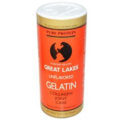 Great Lakes - Porcine Gelatin Collagen Joint Care Unflavored - 16 oz. #ad