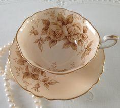 Rose Paragon China Tea Cup & Saucer