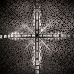 Cathedral of St. Mary of the Assumption (Saint Mary's Cathedral) San Francisco CA (1971) | Pietro Belluschi and Pier-Luigi Nervi